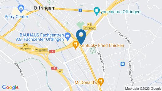 B&B Hotel Oftringen Map