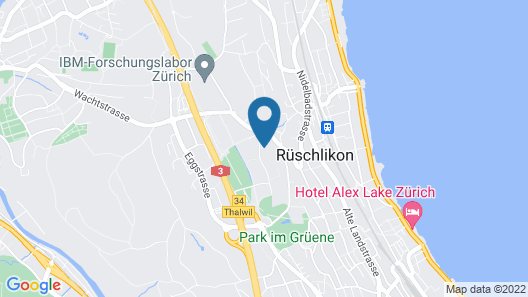 Belvoir Swiss Quality Hotel Map