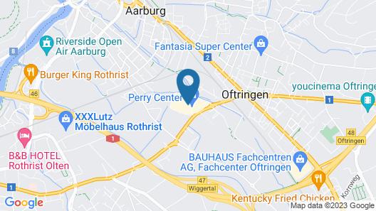 Holiday Inn Express Aarburg - Oftringen, an IHG Hotel Map