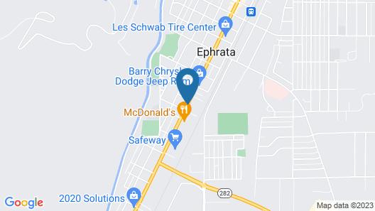 Ephrata Inn Motel Map