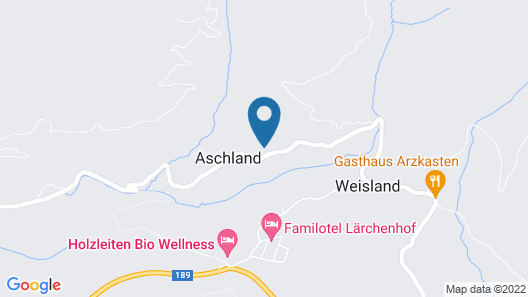 Gasthof Pension Aschlandhof Map