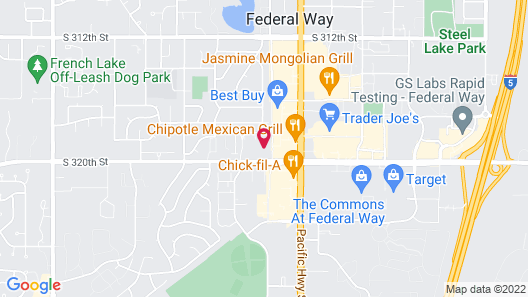 Extended Stay America - Seattle - Federal Way Map