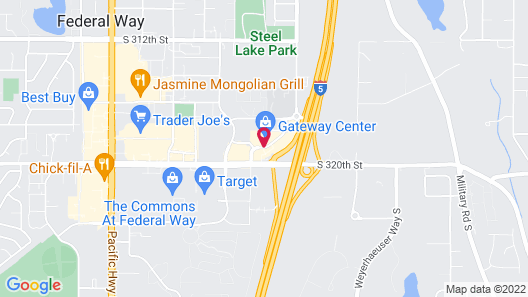 Courtyard by Marriott Seattle Federal Way Map