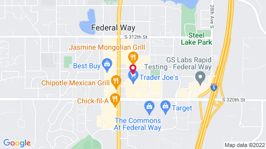 Comfort Inn Federal Way - Seattle Map