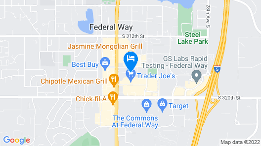 Comfort Inn Federal Way - Seattle Map