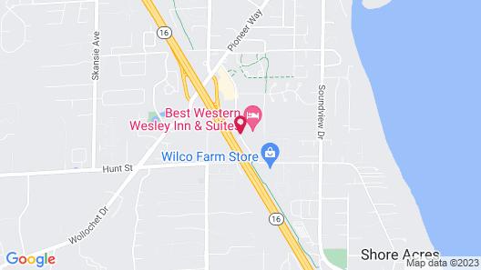 Best Western Wesley Inn & Suites Map