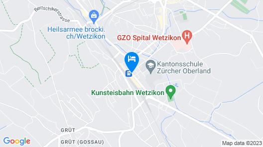 Hotel Schweizerhof Map