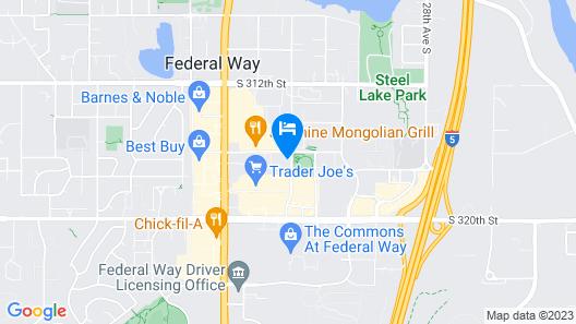 La Quinta Inn & Suites by Wyndham Seattle Federal Way Map