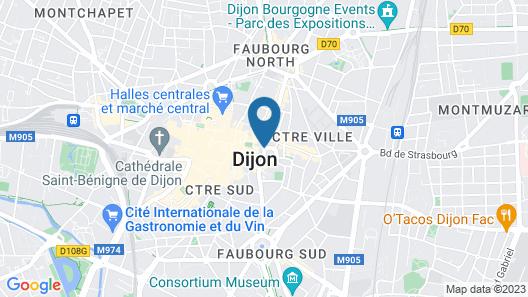 Hôtel des Ducs Map
