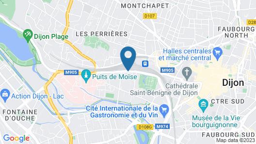 ibis Dijon Gare Map