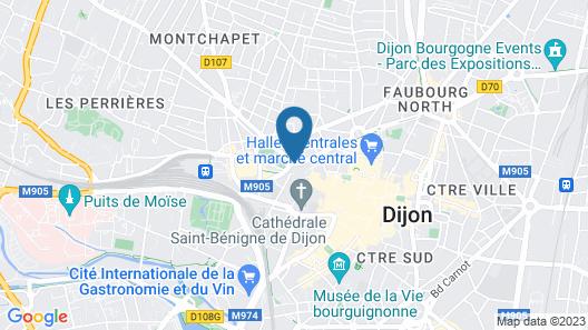 Grand Hotel La Cloche Dijon MGallery Map