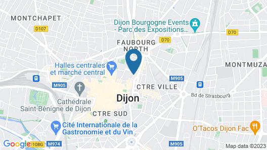 Le Petit Tertre - Chambres d'hotes Map