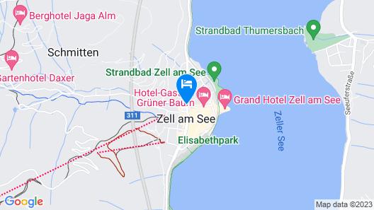 Hotel Glasererhaus Map