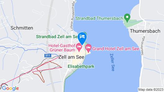 Hotel Salzburgerhof Map