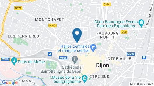 L'aparthoteL LhL Map