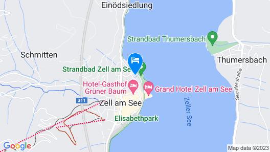 Seehotel Sissi Map