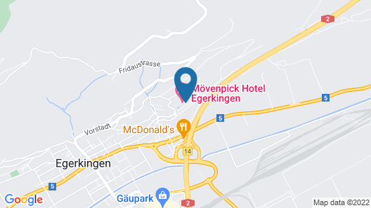 Movenpick Hotel Egerkingen Map