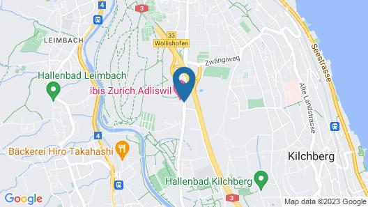 ibis Zurich Adliswil Map
