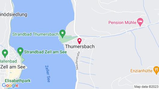 Hotel St Hubertushof Map