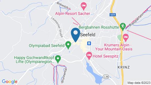 Hotel Klosterbraeu Map