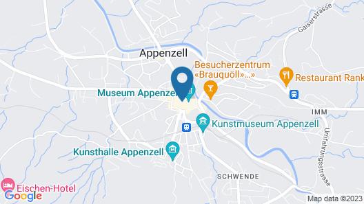 Hotel Löwen Appenzell Map