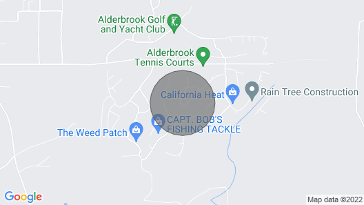 Resort Living Style at Alderbrook G&Y Club Map