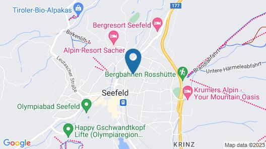 Alpenpark Resort****S Map