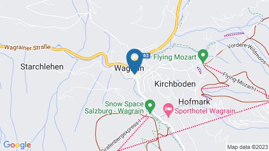 Hotel Wagrainerhof Map