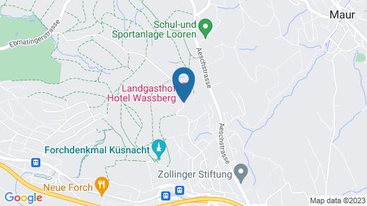 Hotel Wassberg Map