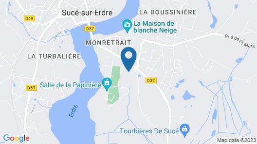 Les Arbres Rouges Map