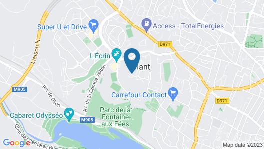 La Bonbonnière Map