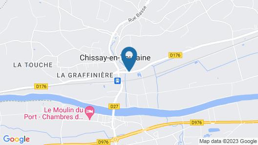 Chateau de Chissay Map