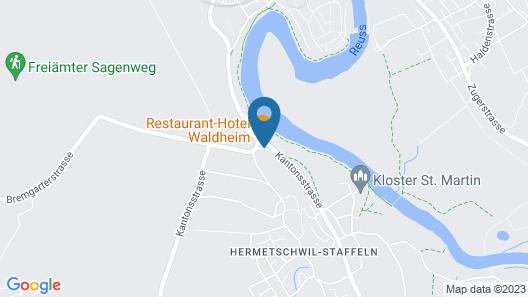 Gasthaus Waldheim Map