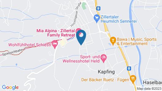 Luxurious Holiday Home in Fügen Near Ski Area Map