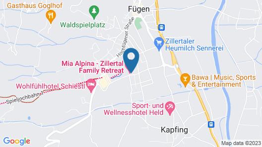 alpina zillertal -  family . lifestyle . kinderhotel Map