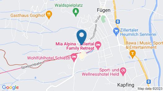 Aktiv- und Wellneshotel Haidachhof Map