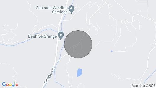 Mountain Escape - 7 Miles to Mission Ridge Resort! Map