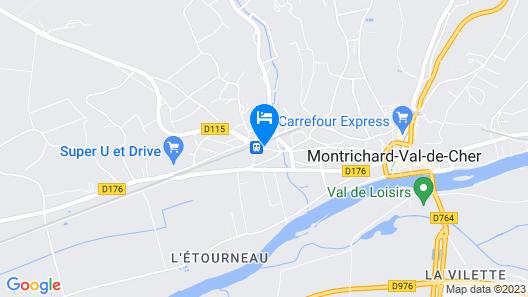 Hôtel Restaurant De La Gare Map