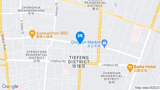Hanting Hotel- Qiqihar Longsha Road Map