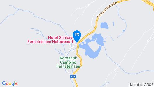 Schloss Fernsteinsee Map