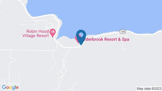 Alderbrook Resort And Spa Map