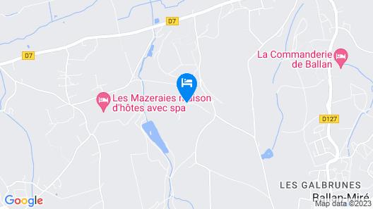 Château de Bois Renault Map