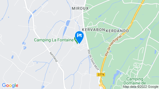 Camping la fontaine Map