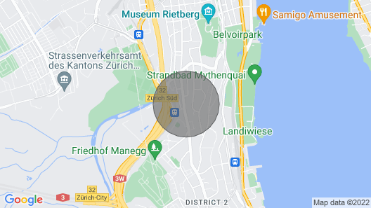 Cosy 20 sq Meter Room: 6 min From the Main Train Station Map