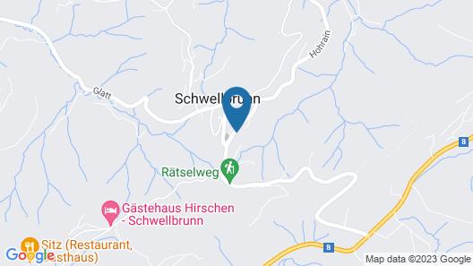 B&B Gästehaus Rössli Schwellbrunn Map