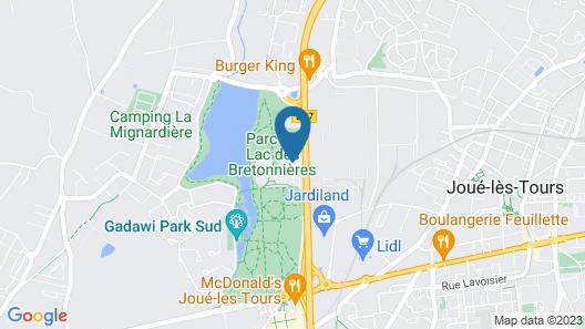 Mercure Tours Sud Map