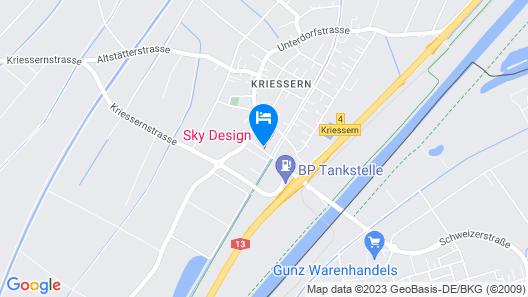 Sky Motel Map