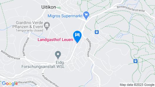 Landgasthof Leuen Map