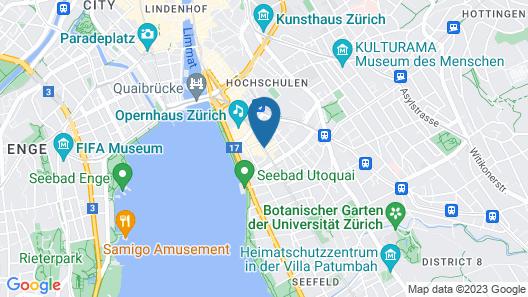 Boutique Hotel NI-MO Map