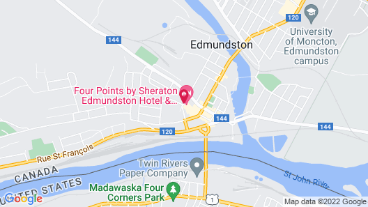Four Points by Sheraton Edmunston Hotel & Conference Center Map